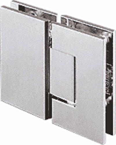 CRL Geneva 180 Series Chrome 180º Glass-To-Glass Standard Hinge