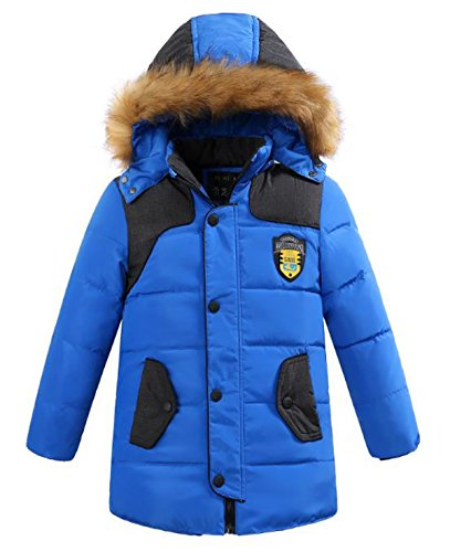 Quilted Hooded Long Down Jacket - 5