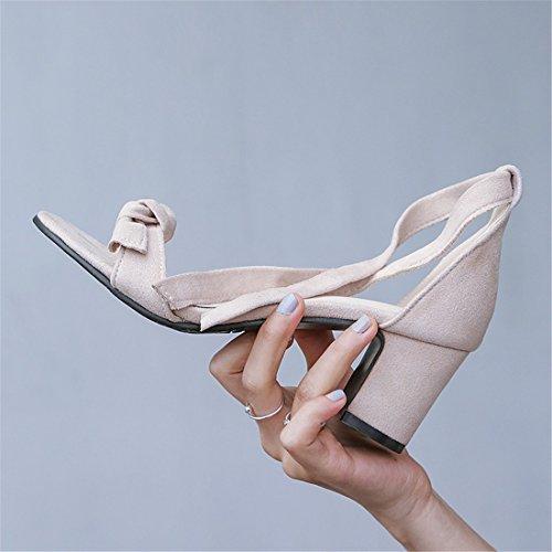 Sandalias y Mujer Baja Sandalette Flops Minimalistas Sandalias Sandalias Beige DEDE Flip abrasivo q5EpwtO