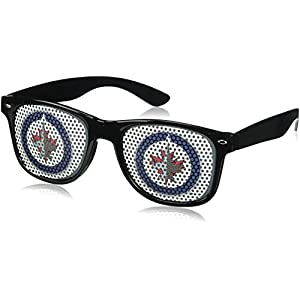NHL Winnipeg Jets Adult Game Day Shades, Black