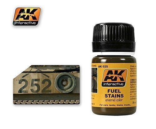 AK Interactive - Fuel Stains - AK00025 by AK Interactive
