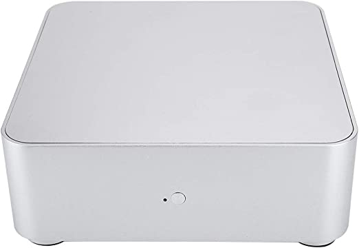 KSTE Mini Caja de la computadora ITX 2.0 aleación de Aluminio de la Caja HTPC Mini Caja de la computadora PC: Amazon.es: Electrónica