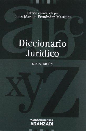 Descargar Libro Diccionario Jurídico Juan Manuel Fernández Martínez