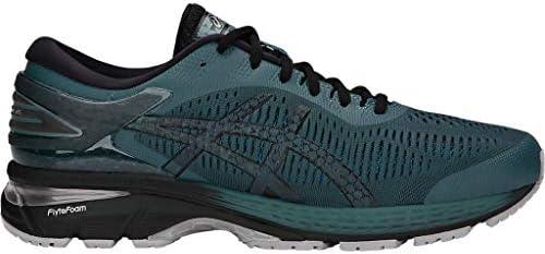 ASICS Men's Gel-Kayano 25 Running Shoes, 9.5M, IRONCLAD/Black 1