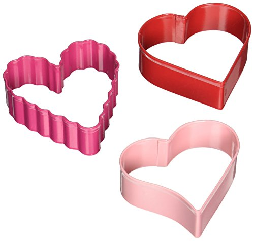 WMU 663428 Cookie Cutters Hearts - 3-Package