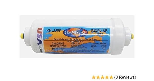 """Omnipure filtro acqua 3//8/"""" clic k2533 Inline"""