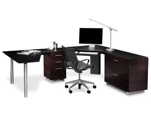 BDI Sequel Peninsula Desk: Left-Facing Desk ()