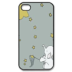 Elephants ZLB611838 Brand New Case for Iphone 4,4S, Iphone 4,4S Case