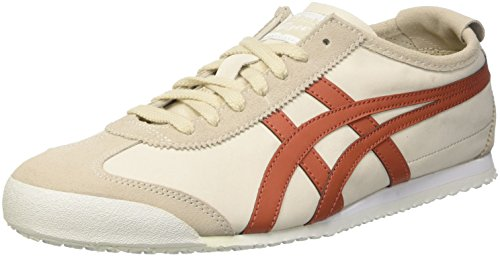 Asics Mexico 66, Zapatillas de Gimnasia Unisex Adulto Bianco (Off-White/Cinnamon)