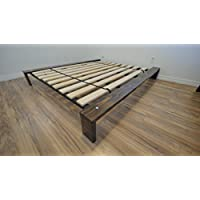 Encore Modern Platform Bed – Custom wood stain - California King