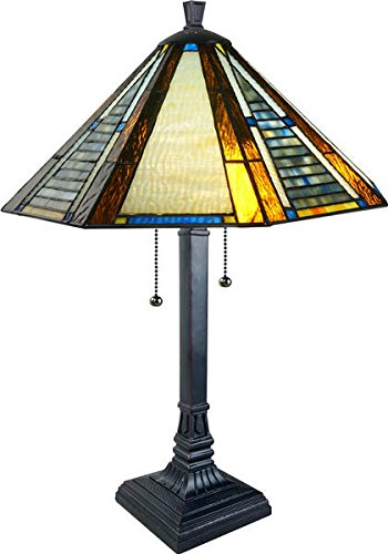 Frank Lloyd Wright Stained Glass Table Lamp - 20
