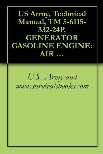 US Army, Technical Manual, TM 5-6115-332-24P, GENERATOR GASOLINE ENGINE: AIR COOLED, 5 KW, AC, 120/240 V, SINGLE PHASE; 120/208 V, 3 PHASE, SKID (Engine Mounted Generator)