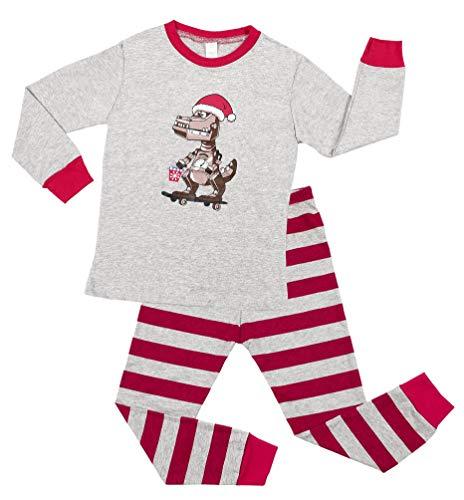 Child Christmas Dinosaur Pajama Set