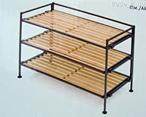 organizing a small kitchen seville classic 3 tier bamboo storage and shoe 3788