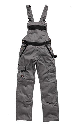 Dickies Salopette de travail deux tons IN30040, couleur:gris/noir;pointure:48L