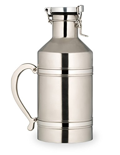 Bon Chef 61326 Stainless Steel Beer Growler, 76-Ounce Capacity, 5-1/2'' x 13'' by Bon Chef