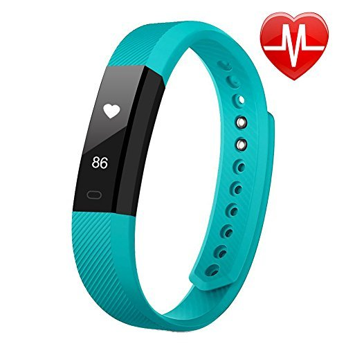 LETSCOM Fitness Tracker, Fitness Tracker Watch with Heart Rate Monitor,Slim...