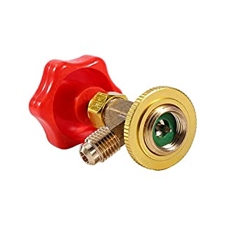 """AC Can Tap Valve Bottle Opener, M14/1/4"""" Auto Air Conditioning Refrigerant Can Tap Valve Bottle Opener for R134a"""