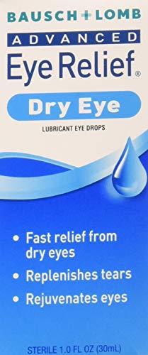 (Bausch & Lomb Advanced Eye Relief Dry Eye Lubricant Eye Drops 1oz ( Packs of 3) )