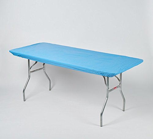 """Kwik-Covers 8' Rectangle Plastic Table Covers 30"""" x 96"""", ..."""