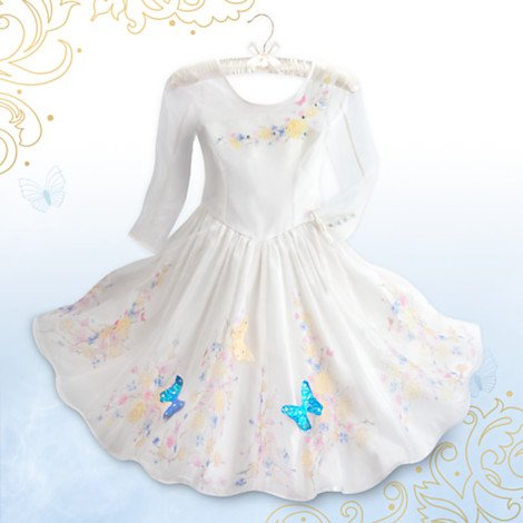 [Cinderella Deluxe Wedding Costume for Girls - Live Action Film Size 3] (Dress Deluxe Costumes)