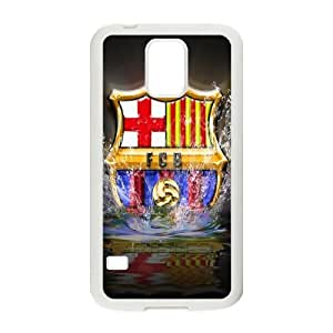 Samsung Galaxy S5 Cell Phone Case White Barcelona HG7622889