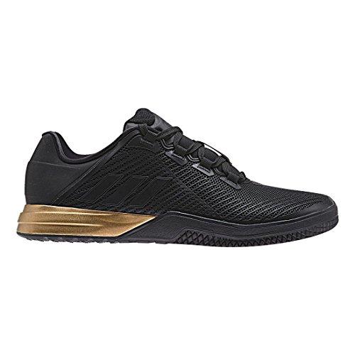 adidas Men's CrazyPower TR M Cross Trainer, Utility Black/Tactile Gold, 8 Medium US