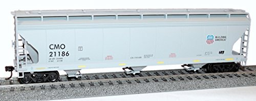 Ho Union Pacific Hopper - Ho Union Pacific/CMO 3-Bay ACF Hopper