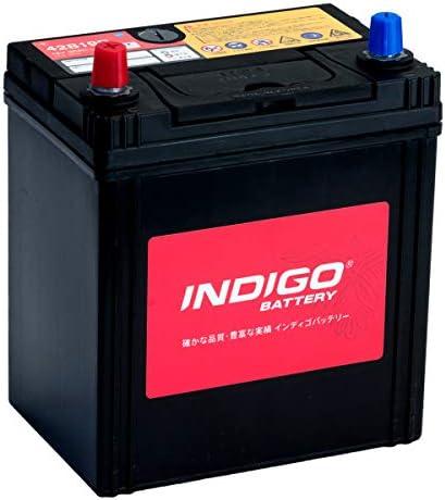 インディゴ バッテリー 42B19R タウンエーストラック DBF-S412U H26/6~ 4WD
