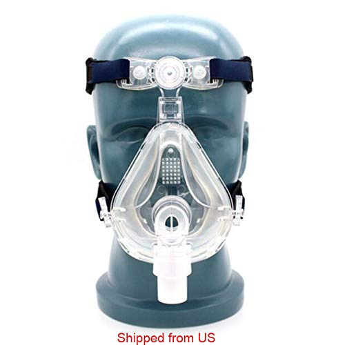 zinnor Universal full face mask with Adjustable Headgear for Free Breath to Prevent Snoring in Sleeping Shipped from US by Zinnor