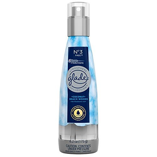 Glade Fine Fragrance Mist NO 3 Free Coconut and Beach Woods, 6.2 OZ by Glade Atmosphere (Image #1)