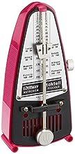 Wittner 903088 Metrónomo Taktell Piccolo en caja de plástico color rosa oscuro