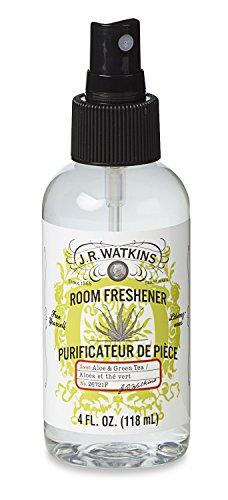 Room Spray Watkins (J.R. Watkins Naturally Derived Room Freshener, Aloe & Green Tea, 4 Ounce (Pack of 6))