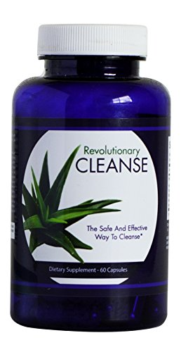 Rev. Cleanse- Natural and Effective Slimming Formula to Detoxify and Cleanse Colon- 60 Capsules