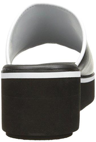 Skechers Cali Womens Hushhush Breezy Easy Platform Sandal Black/White