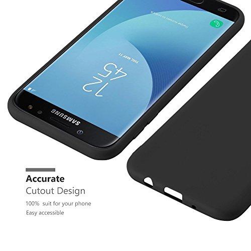Cadorabo - Cubierta protectora para >                                                  Samsung Galaxy J7 (7) - Modelo 2017                                                  < de silicona TPU en diseño Candy