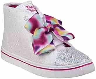 6c2283451923c Nanette Lepore Girls Pink Crisscross Strap Buckle Trendy Sandals 11-4 Kids.  seller: SophiasStyle. (0). Disney Girls Silver Glitter JoJo Siwa Bow Accent  ...
