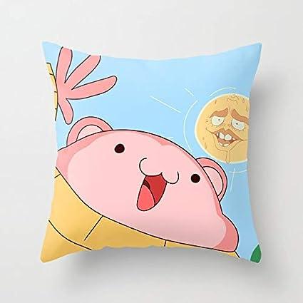 Amazon.com: Funda de almohada de algodón suave con ...