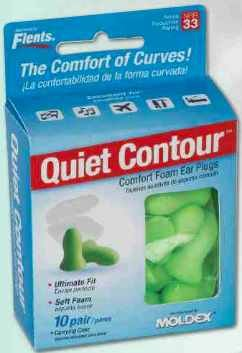 Flents Quiet Contour Ear Plugs (10 Pair) NRR 33 (Plugs Flents Ear)