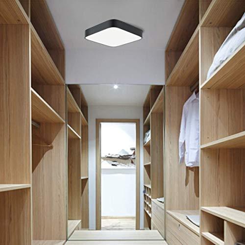 LED Deckenleuchte Deckenlampe LED bedee Küchenlampe Badlampe Decke 4000K 36W LED Lampe Leuchte Quadratische Dünne für Küche Schlafzimmer Wohnzimmer Esszimmer Balkon Flur [Energieklasse A++]