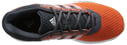 adidas Galaxy 2 M, Zapatillas de Running para Hombre Gris / Naranja / Blanco (Onix / Narsup / Ftwbla)