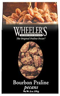 - Indianola Pecan House Wheeler's Bourbon Praline Pecans 9 oz Box