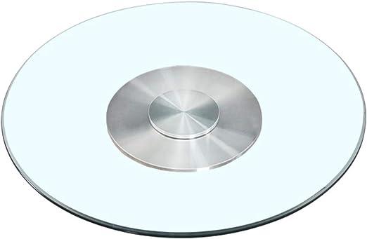 Plato giratorio de mesa de vidrio redondo Plato giratorio de ...