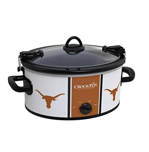 Crock-Pot 6-Quart NCAA Slow Cooker, Texas by Crock-Pot by Crock-Pot