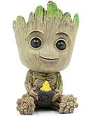 Leegicst Groot Treeman Planter Flower-Pot - Tiny Succulents Plants Pot of Galaxy Guardians Treeman – Pen Pot Pencil Holder