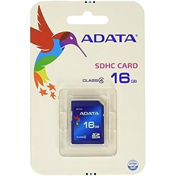 ADATA 16GB SDHC Class 4 Memory Card (ASDH16GCL4-R)