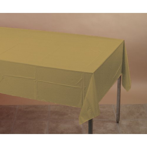 01-1031 Plastic Tablecover 54X108 Classic Red