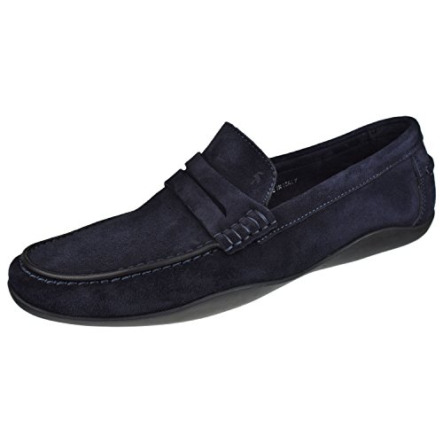 Harrys Of London Hombres Zapatos Basel Loafer Medianoche