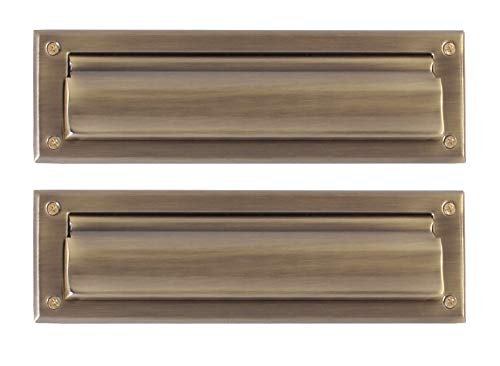 BRASS Accents A07-M0010-609 Mail Slot, 3 5/8