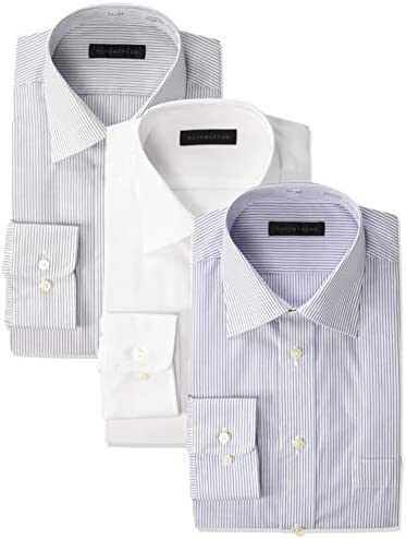メンズワイシャツ 形態安定加工 トレンドレギュラー 3枚セット